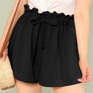 Black Shorts w Bow